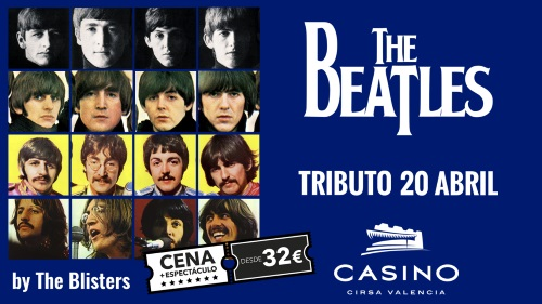Homenaje a The Beatles en el Casino Cirsa en Valencia