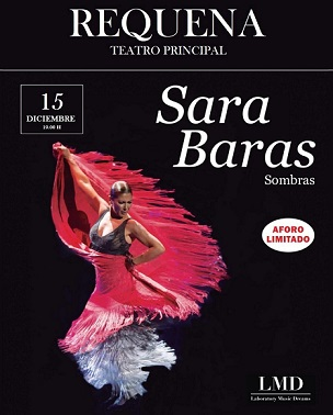 Sara Baras convertirá Requena en un tablao flamenco en Requena